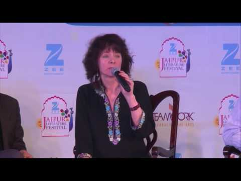 #ZeeJLF2017: Book Launch: Capitals by Abhay K, released by Ruth Padel