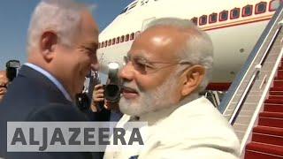 Israel: Indian Prime Minister Modi makes unprecedented visit