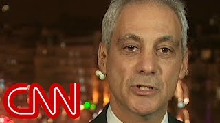 Rahm Emanuel defends Chicago, chides media for rush to believe Jussie Smollett