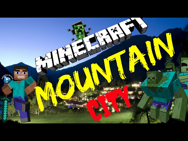MINECRAFT MOUNTAIN CITY PT. 1 FATHER AND SON GAMING