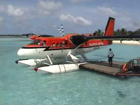 Maldives Sea Plane