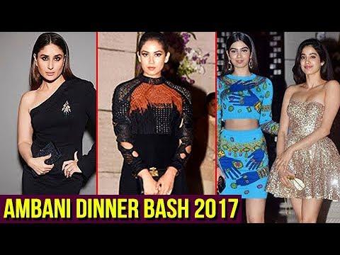 Kareena Kapoor, Mira Rajput And Stars At Ambani Dinner Party For Natalia Vodianova
