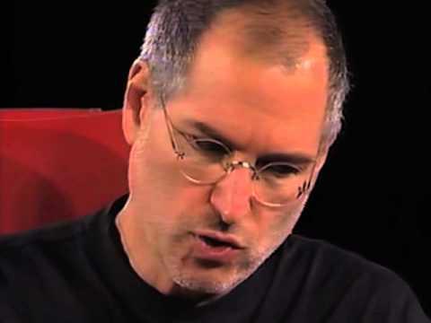 Steve Jobs in 2004, at D2
