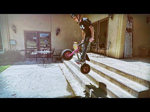 FatBoy Mini BMX Tricks