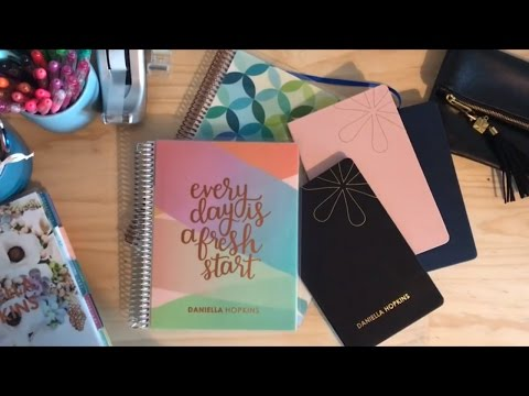 Erin Condren Hard Bound Notebook & Coiled Notebook Comparison