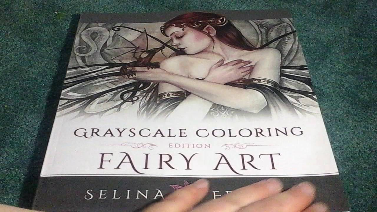 Fairy art coloring book by selina fenech - Fairy Art Grayscale Coloring Edition Grayscale Coloring Books By Selina Volume 1 By Selina Fene