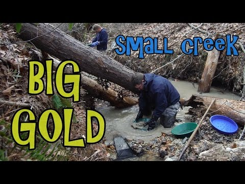 Winter Gold Prospecting - In search of the old placer mine