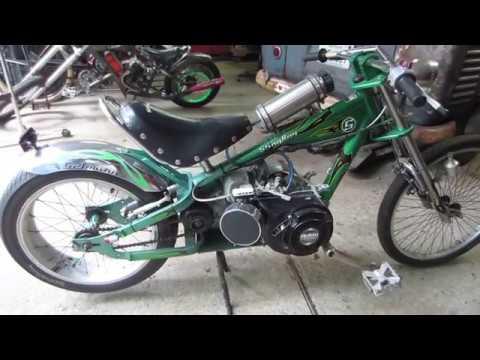 Taking Out The Custom Mini Bikes Youtube