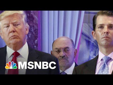 Trump Organization CFO Allen Weisselberg Surrenders | MSNBC