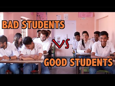 Good Students VS Bad Students I School Life - Rajasthani Swag