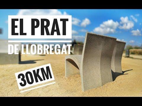 EL PRAT DE LLOBREGAT -30KM WALK - BARCELONA AIRPORT EL PRAT, PLAYA EL PRAT, NATURAL PARK, PLAYA GAVA