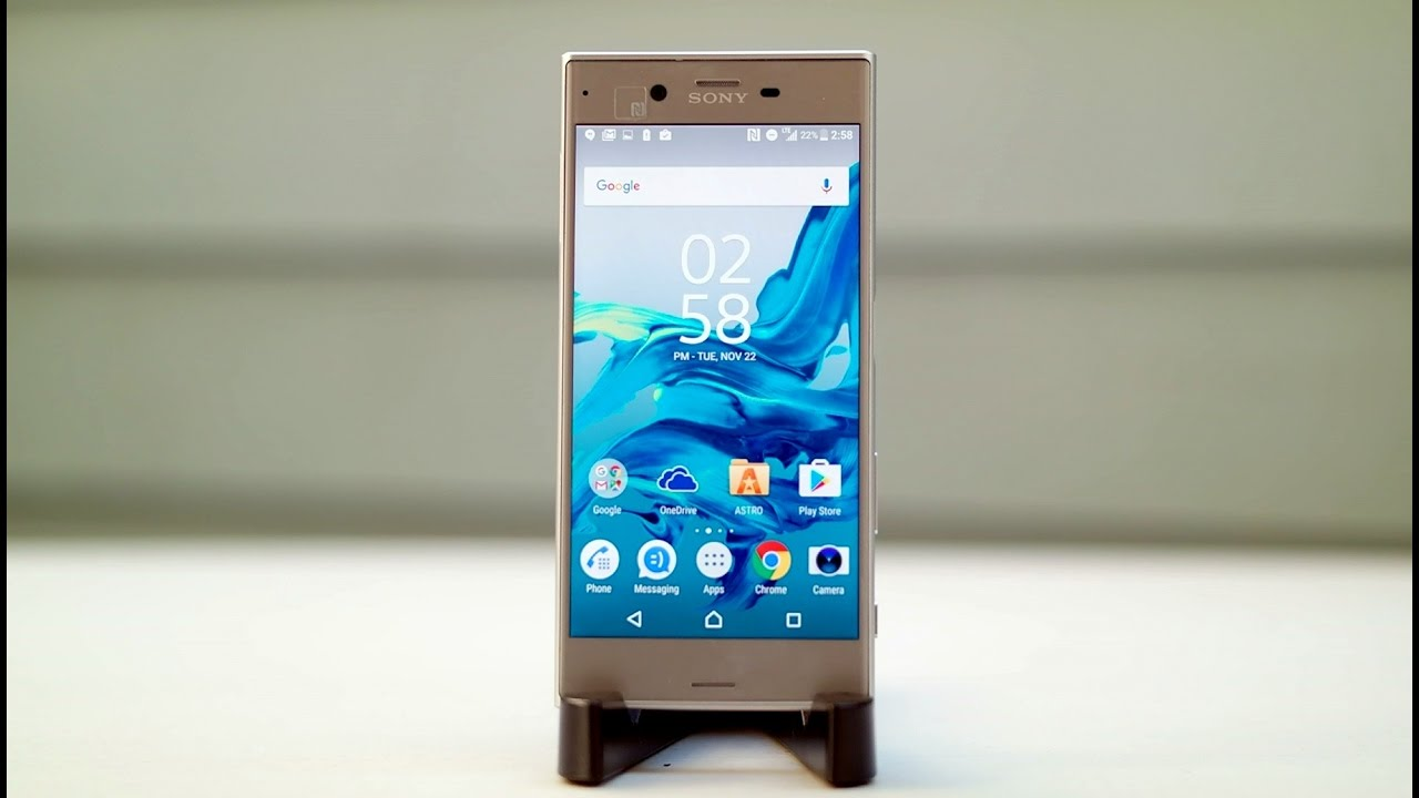 Sony Xperia Xz Review A Second Try At Proper Flagship Smartphone Z3 Compact Seken Youtube Premium