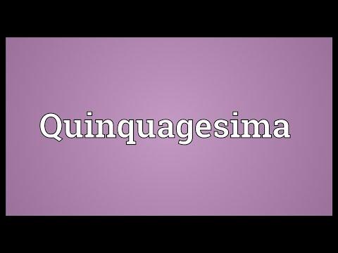 Header of Quinquagesima
