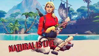 FORTNITE LIVE (NA EAST) ZONE WARS, TURTLE WARS, GIFTING AT 10K SUBS