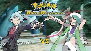 Pokémon Battle Revolution: Steven vs Wallace [60fps]
