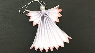 Diy paper angel, christmas angel / how to make ornaments for decorations ???