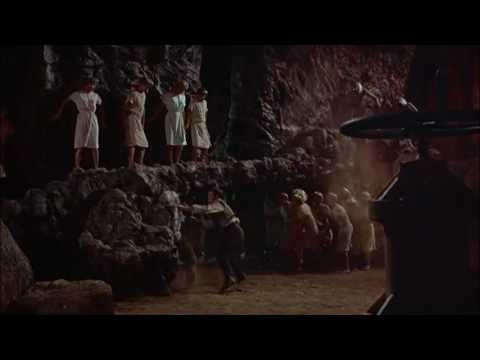 The Time Machine (1960) Morlock Fight