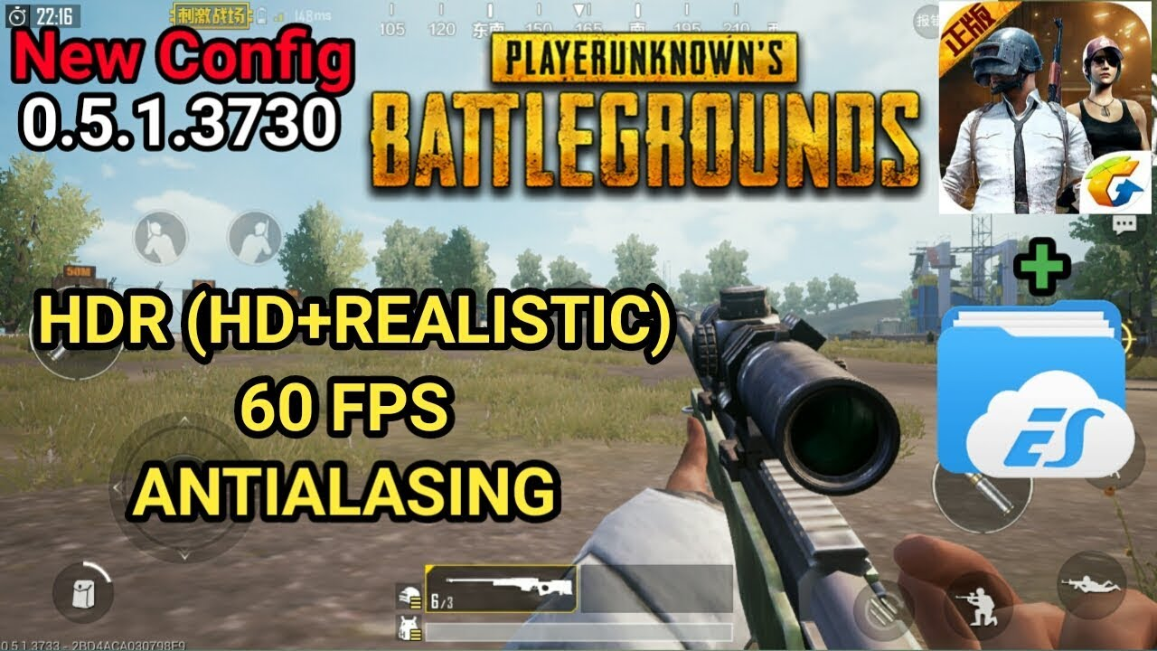 Pubg Mobile Graficos Hdr: Unlock HDR Graphic ( HD+Realistic)! 60 FPS & Antialiasing