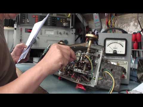 Cossor 524 Melody maker Pt6  AM IF & RF alignment