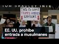 EE. UU. prohíbe entrada a musulmanes - Trump - Denise Maerker 10 en punto
