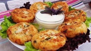 Картошкали котлета ☆Картофельные биточки с зеленью