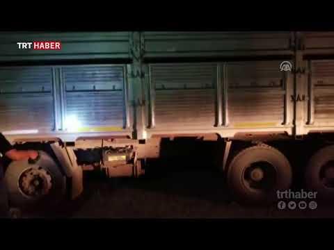 Kaçak sigara için kamyona özel düzenek