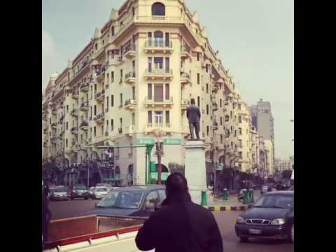 Busy street in Cairo 2016!