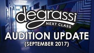 Degrassi: Next Class Audition Update (September 2017)