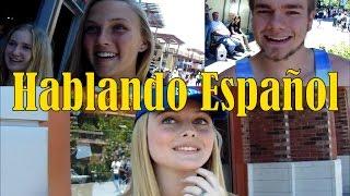 Gringos hablando español   DisneyLand