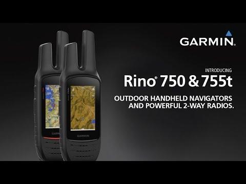 Rino 700 Series: GPS Navigators with Built-in 2-Way Radios