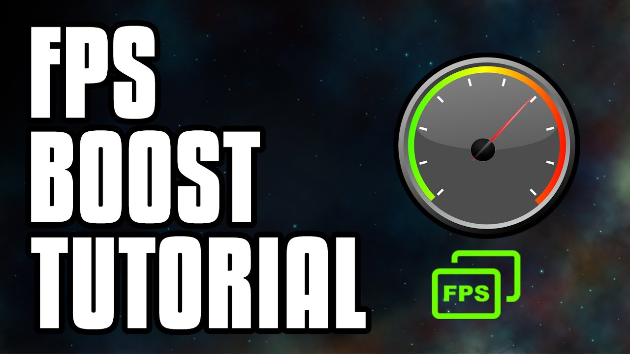 How To Boost Your FPS on PC Games! Best Ways To Increase FPS! - YouTube