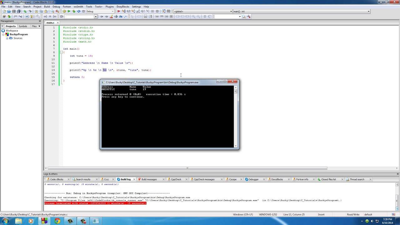 C Programming Tutorial - 42 - Pointers
