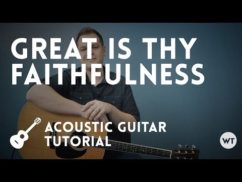 Great Is Thy Faithfulness chords by Shane And Shane - Worship Chords