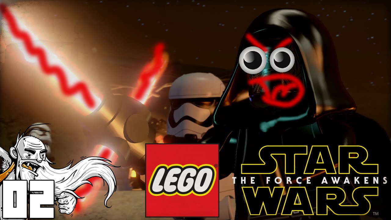 """CHAPTER 1: ASSAULT ON JAKKU!!!"" Let's Play LEGO Star Wars"