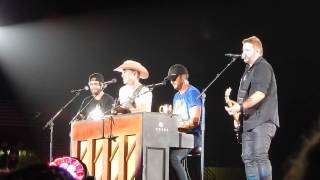 Luke Bryan, Dustin Lynch, Randy Houser & Thomas Rhett--Sugar--Vanderbilt Stadium--July 11, 2015