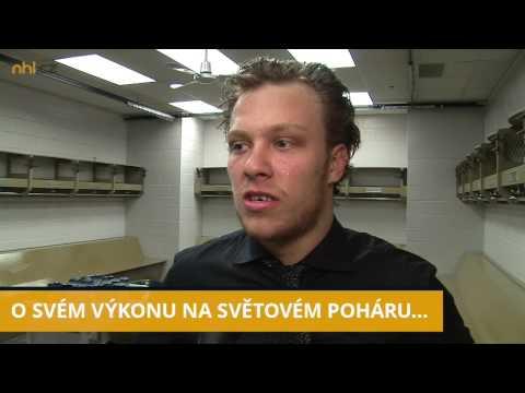 Exkluzivní rozhovor s útočníkem Bruins Davidem Pastrňákem