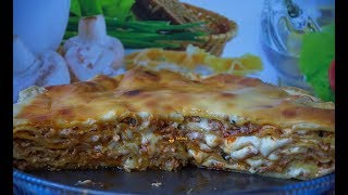 Lasagne Lazanje kompletan recept - Sašina kuhinja