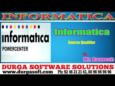 Informatica Tutorial||onlinetraining||informatica|Source Qualifier By Ramesh