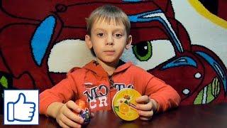 Открываем яичко с машинкой и конфеты! Видео для детей! Детский видеоблог Danya Boy!