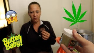POT BROWNIE PRANK ON MOM !!! **HILARIOUS UNEXPECTED REACTION** | Allen and Burgs