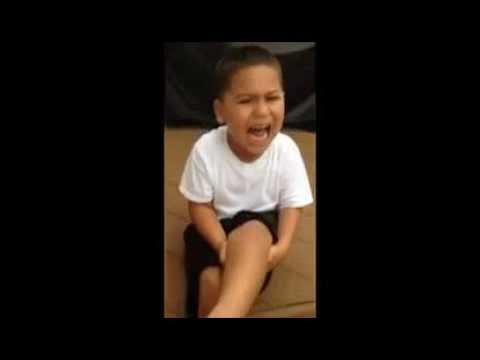 Kid Has Meltdown After Stepping Into Dog Poop