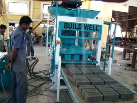 9 Brick Machine Buildwell Flyash Bricks New Machine