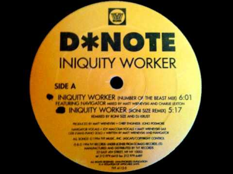D*Note - Iniquity Worker (Devils Work Mix)