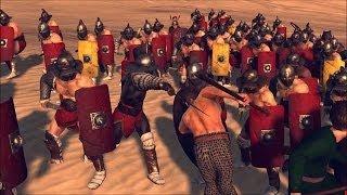 Batalla 6. Espartaco al aparato / Rome II Total War / HD