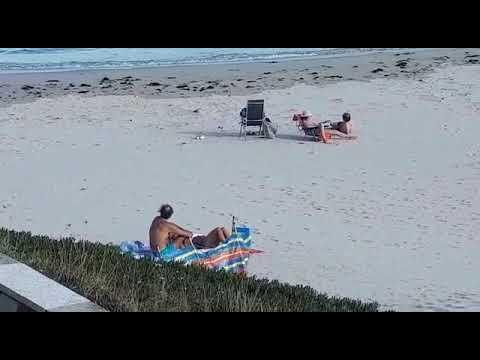 Jornada de playa en A Rapadoira con Foz a 24 grados