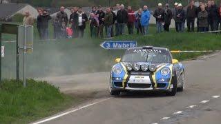 Porsche 911 GT3 RS Rally - Rally de Wallonie 2015 - Drift and Sound