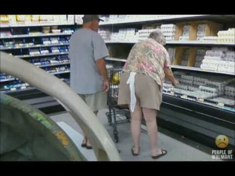 Gente rara en el Supermercado - People of Wal-Mart