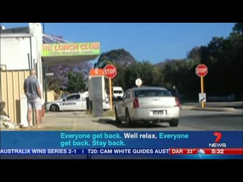 Police Shooting Caught on Camera - Carlisle, Perth (2014)