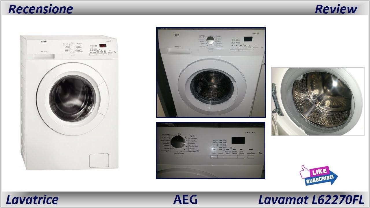 Recensione Lavatrice AEG LAVAMAT L62270FL - YouTube