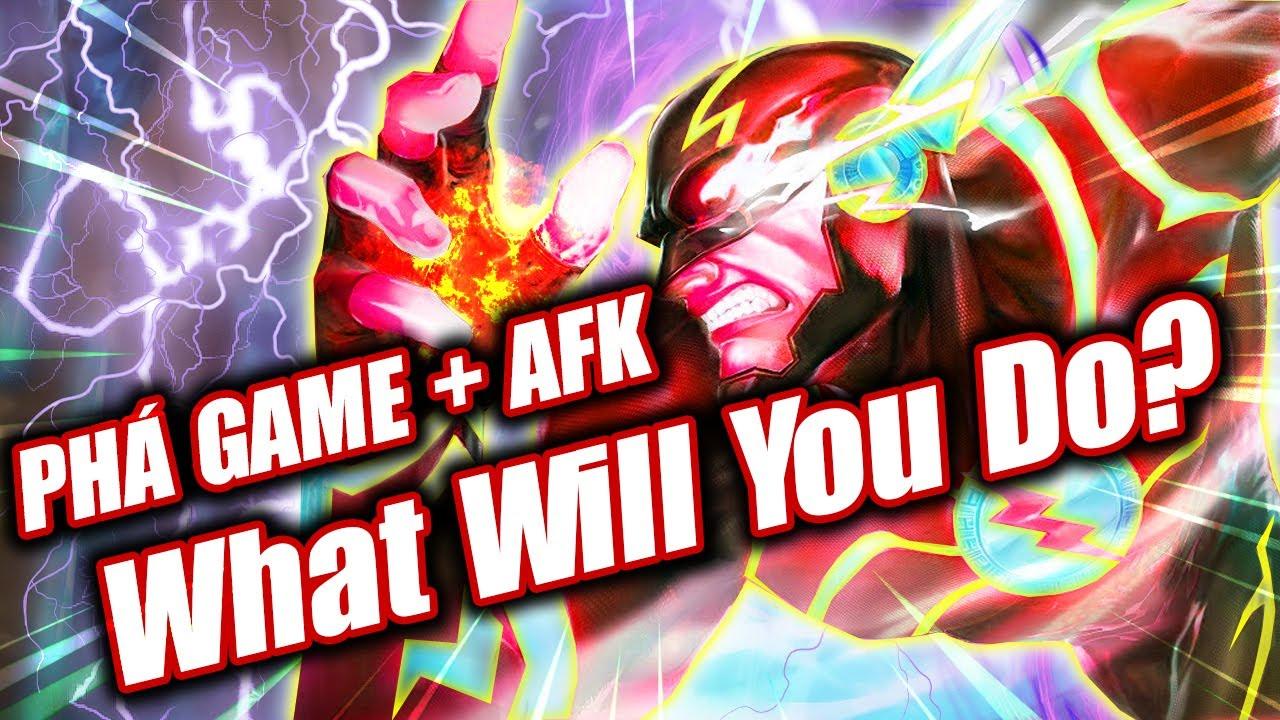 The Flash Đệ Tứ Mạnh Như Phim Mỹ | Đồng Đội PHÁ GAME , AFK | Liên Quân Mobile